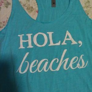 Tops - Tank. Hola Beaches
